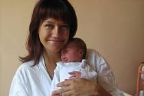 Barbora Kalábová, Olomouc, narozena 11. června v Olomouci, míra 49 cm, váha 3520 g