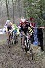 V Uničově se konal poslední závod českého poháru v cyklokrosu. Emil Hekele