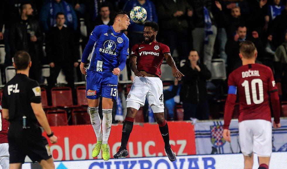 Sigma - Sparta 1:0V dost možná nejlepším zápase pod Látalem porazila Sigma Spartu 1:0 gólem Chytila. 23. 2. 2020