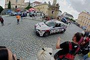 O víkendu na trati Ecce Homo proběhl závod mistrovství Evropy automobilů do vrchu.