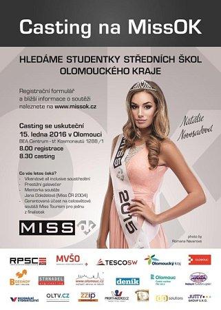 Miss OK Miss středních škol Olomouckého kraje