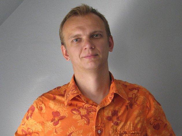 Ondřej Polák, člen skupiny Oa Radeček ze Šumperku