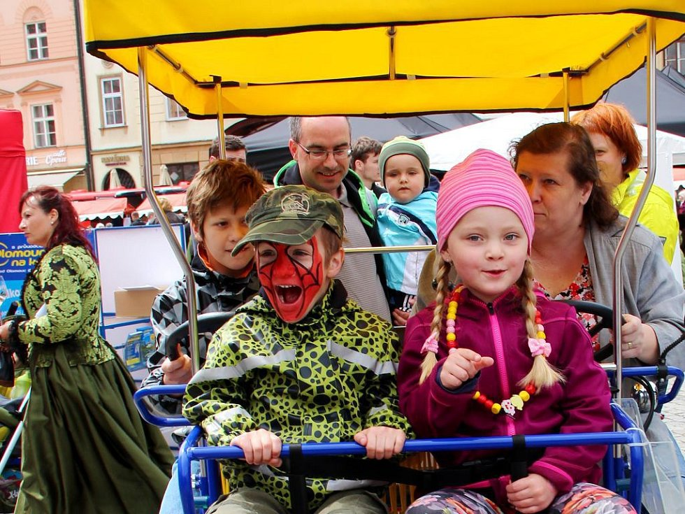 Zahájení turistické sezony v Olomouci. Ilustrační foto