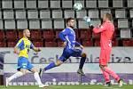 Sigma porazila Teplice 1:0.Tomáš Vondrášek, Martin Hála a Jakub Diviš