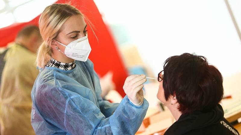Testy na koronavirus. Ilustrační foto