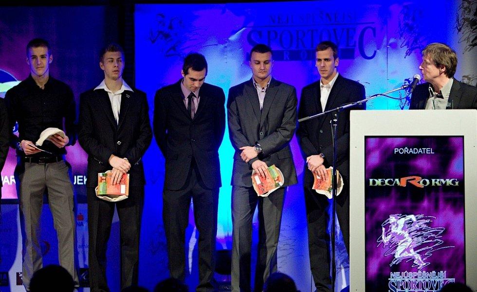Vyhlášení ankety Nejlepší sportovec Olomoucka 2012: Sigma U19