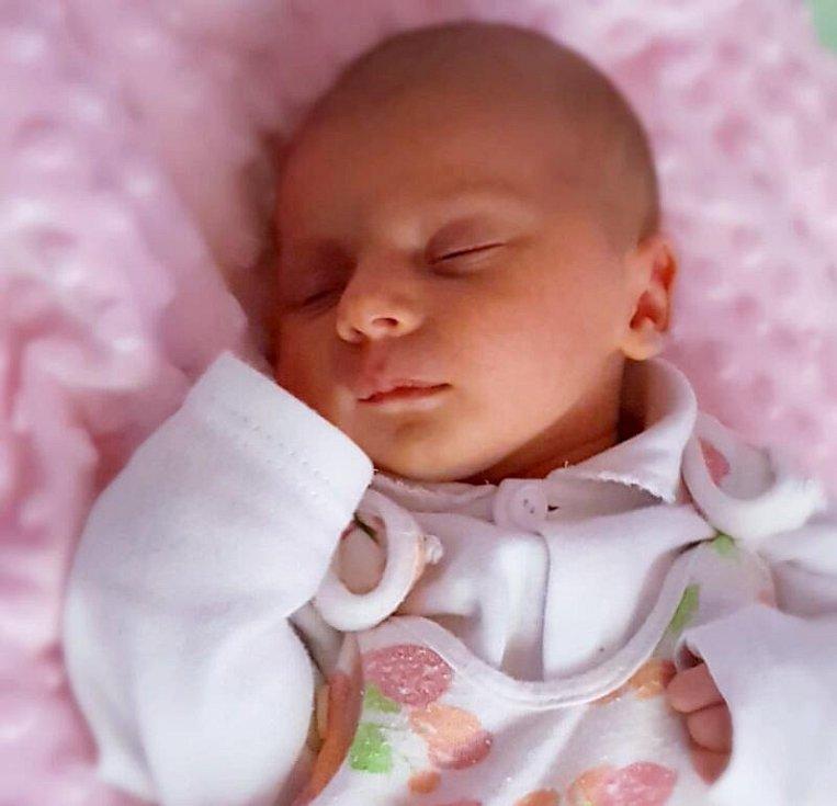 Alena Hrubá, Palonín, narozena 22. srpna, 50 cm, 3100 g