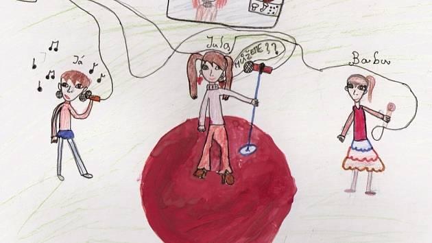 Johanka Bartlová, 9 let, chce být zpěvačkou