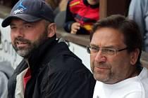 Trenérské duo Jiří Dopita a Petr Fiala