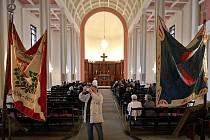 Interiér Husova sboru v Olomouci