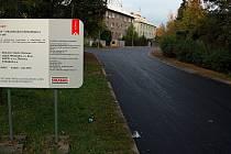 Opravená Erenburgova ulice v Olomouci. Pátek 27. září 2019