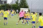 Olomoucká fotbalová škola 2017, jedním z hostů byl i Jan Koller