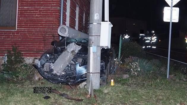 Dopravní nehoda v Topolanech, 20. 11. 2019