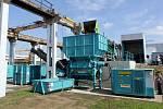 Otevření nového překladiště odpadu v olomoucké části Chválkovice v červnu 2015