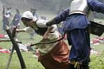 Svátky města 2008: bitva se Švédy pod olomouckými hradbami