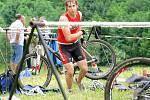 Mistrovství Olomouckého kraje v terénním triatlonu v Dolním Žlebu u Šternberka