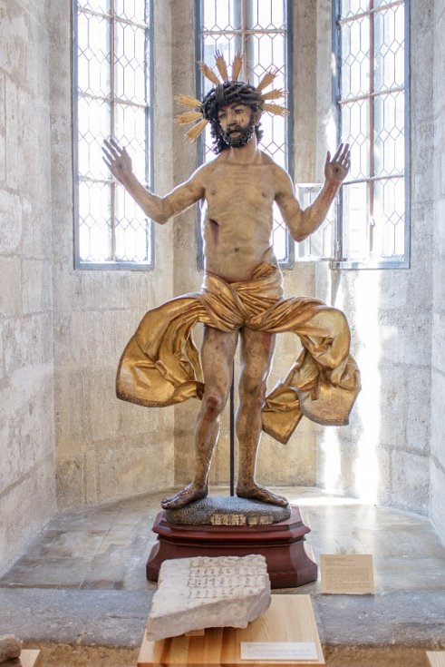 Bolestný Kristus zVlašského dvora (Město Kutná Hora)