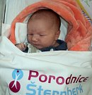 Tobias Chytil, Uničov, narozen 10. dubna ve Šternberku, míra 50 cm, váha 3640 g