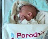 Sofie Nesétová, Rýmařov, narozena 7. dubna, míra 48 cm, váha 2960 g