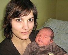 Veronika Christová, Olomouc, narozena 5. března v Olomouci, míra 50 cm, váha 3760 g