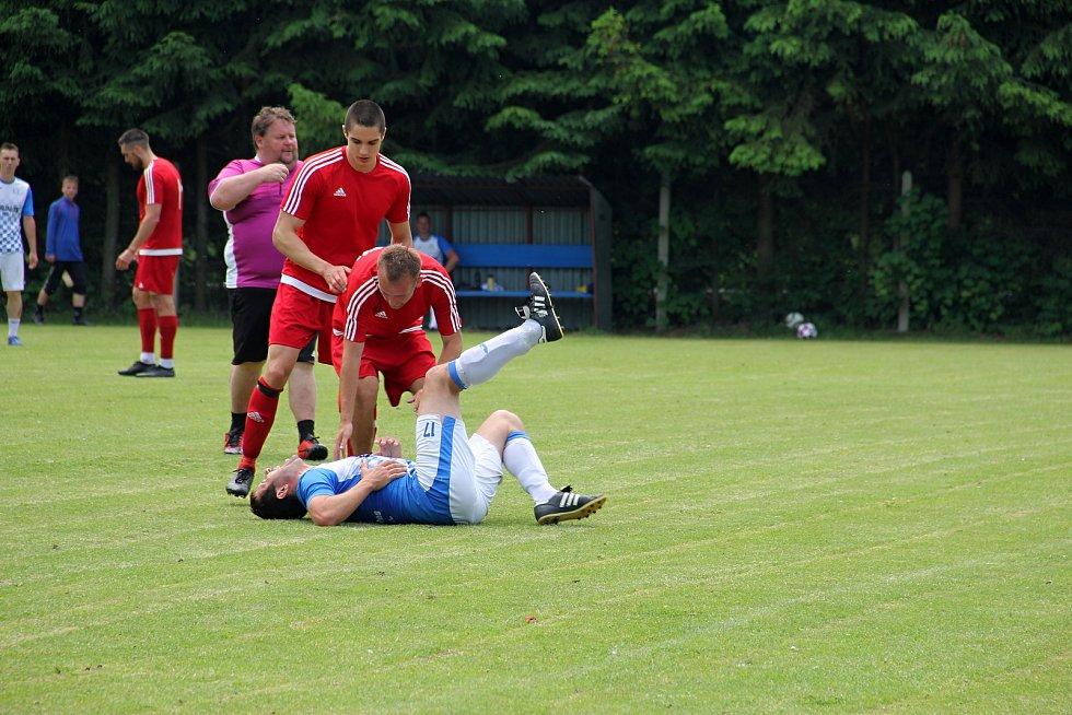 Litovelští fotbalisté uzavřeli sezonu 2020/21 přátelským derby zápasem proti Července (4:2).
