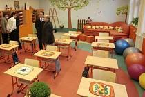 Nové učebny ve škole v Hněvotíně