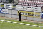 Goal-line technology na Andrově stadionu v Olomouci