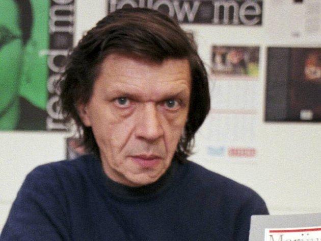 Petr Mikeš v roce 1995, kdy pracoval jako šéfredaktor známého nakladatelství Votobia v Olomouci