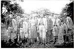 Zakládací výbor tělocvičné jednoty Sokol z roku 1909 v Náměšti na Hané.