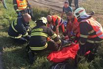 Doslova napilno měly v odpoledních hodinách posádky zdravotnické záchranné služby ve Šternberku.