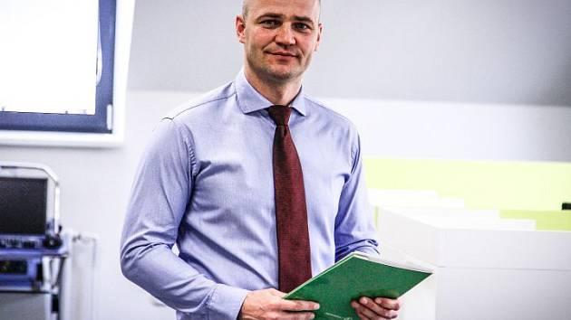Ředitel společnosti TRYSTOM Marek Švarc