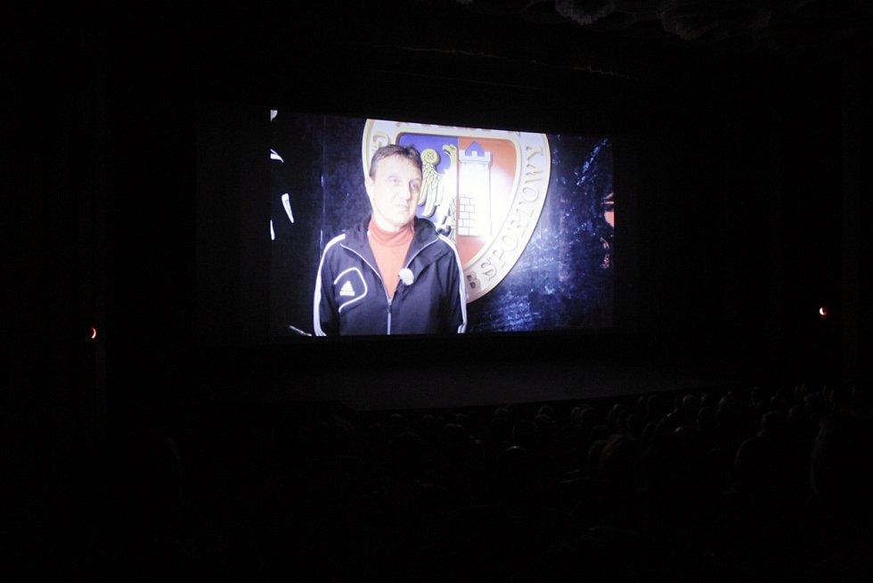 V Uničově proběhla premiéra fotbalového dokumentu 10:15 čas na fotbal