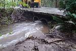 Hasiči ve středu 12. května zasahovali po bouřkách hlavně na severu Olomouckého kraje