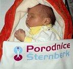 Valerie Potoczká, Hraničné Petrovice, narozena 1. ledna ve Šternberku, míra 50 cm, váha 3270 g