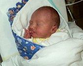 Arne Ráliš, Mariánské Údolí, narozen 2. května v Olomouci, míra 49 cm, váha 3040 g