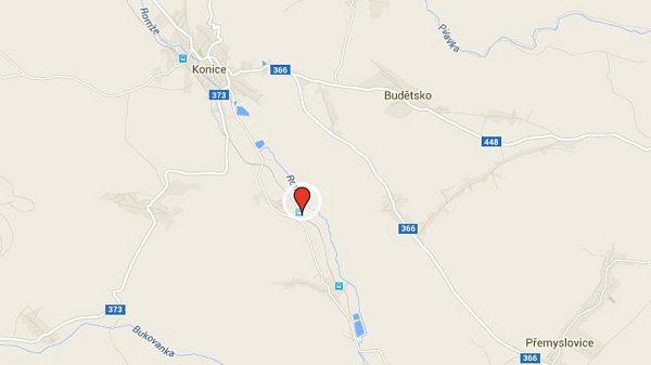 4) Konice, místní část Křemenec
