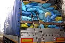 Další kamion se zimním oblečením a dalšími potřebami poslala Arcidiecézní Charita na Ukrajinu. V pořadí třetí kamion s materiální pomocí vyjel z Olomouce v úterý 16. prosince.