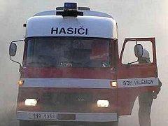 Dobrovolní hasiči z Vilémova