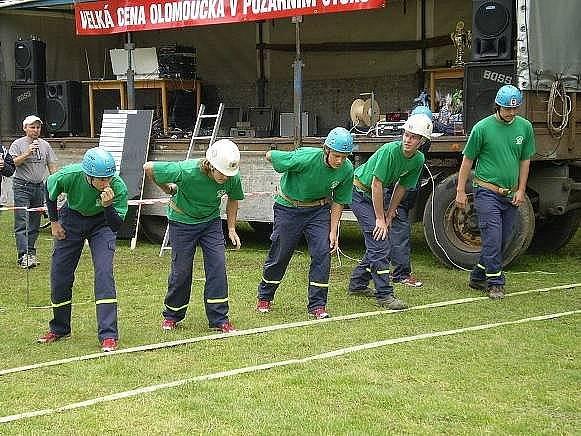 Dobrovolní hasiči z Vilémova na soutěži