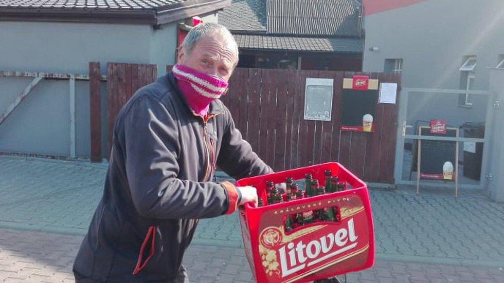 Na nákup v izolované Litovli