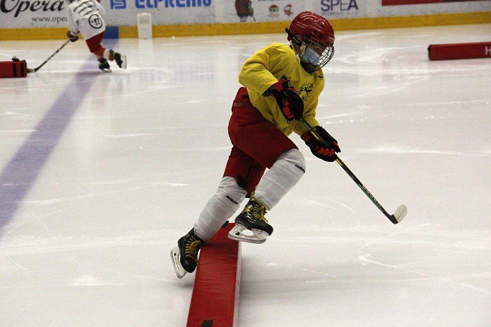 Mládež HC Olomouc musí trénovat v rámci hygienických opatření. Ve skupinách maximálně po deset a s rouškami.