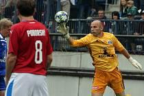 Tomáš Lovásik ve fotbalovém zápase století Sigma . reprezrntace ČR