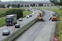 Oprava dálnice D46 mezi Olomoucí a Prostějovem