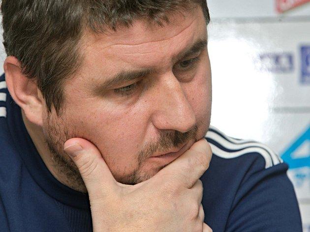 Trenér Sigmy Zdeněk Psotka