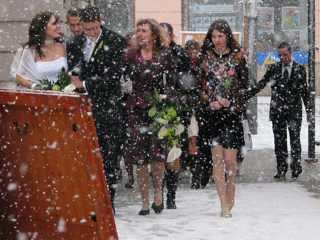 Svatba s chumelením