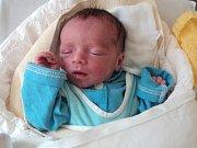 Michael Štefka, Rýmařov, narozen 25. září ve Šternberku, míra 43 cm, váha 2240 g