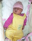 Kristýna Suchomelová, Hnojice, narozena 16. května ve Šternberku, míra 52 cm, váha 4290 g.