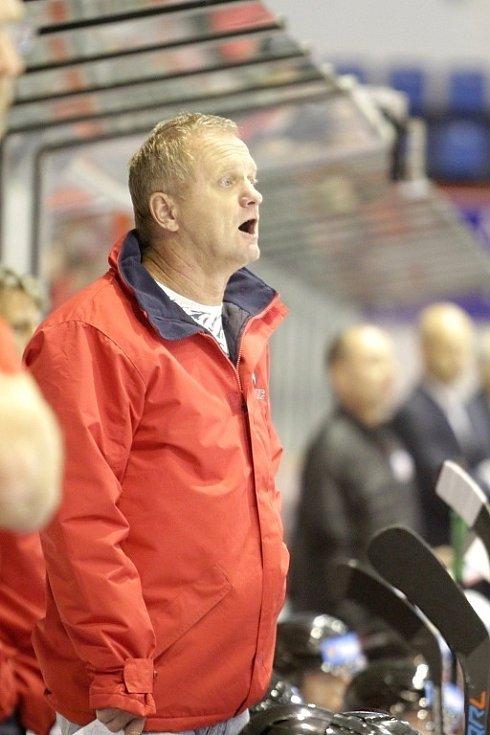 Trenér HC Olomouc Zdeněk Venera