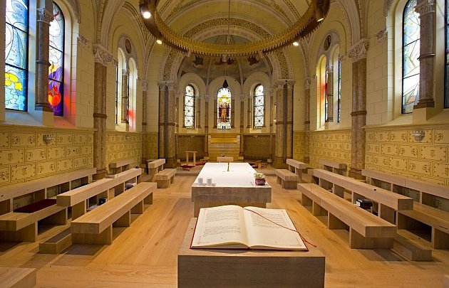 Úprava klášterní kaple Kongregace milosrdných sester III. řádu sv. Františka vOlomouci.