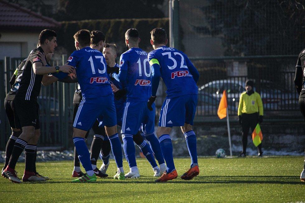 Olomoucká Sigma doma remizovala v přípravném utkání doma s Ružomberkem 1:1.  Mojmír Chytil, Jakub Yunis, Vít Beneš